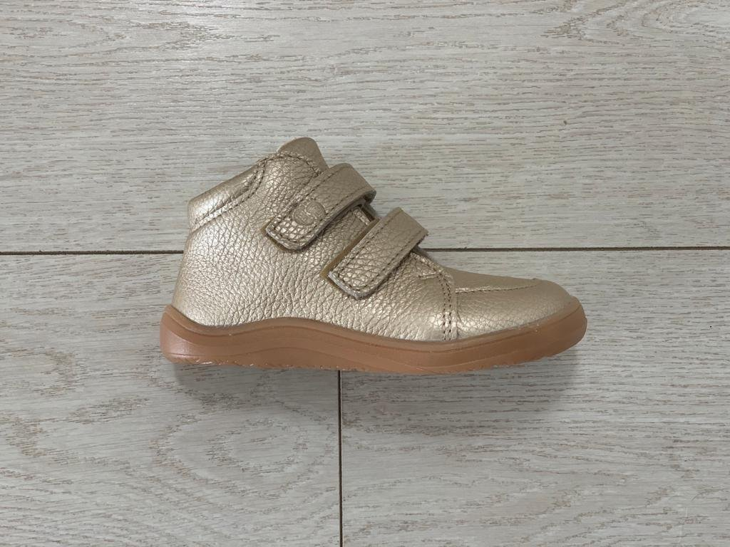 Baby Bare Shoes Febo FALL Gold
