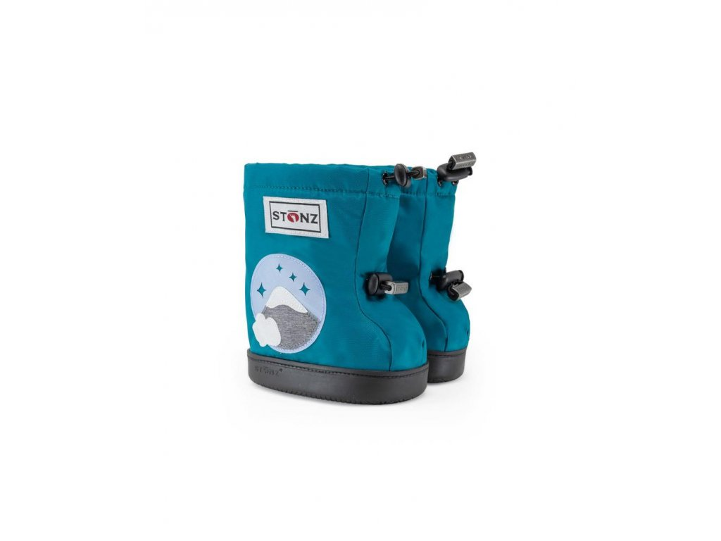 detske outdoor capacky toddler booties mountain teal