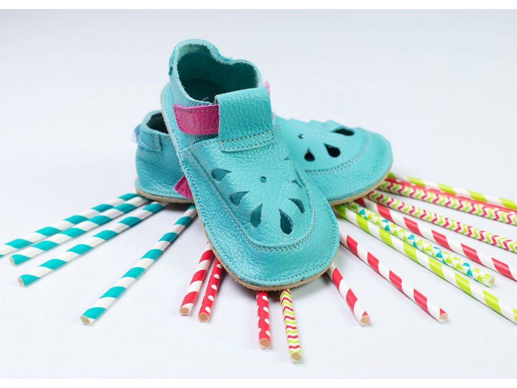 Baby Bare Shoes IO Flower TS