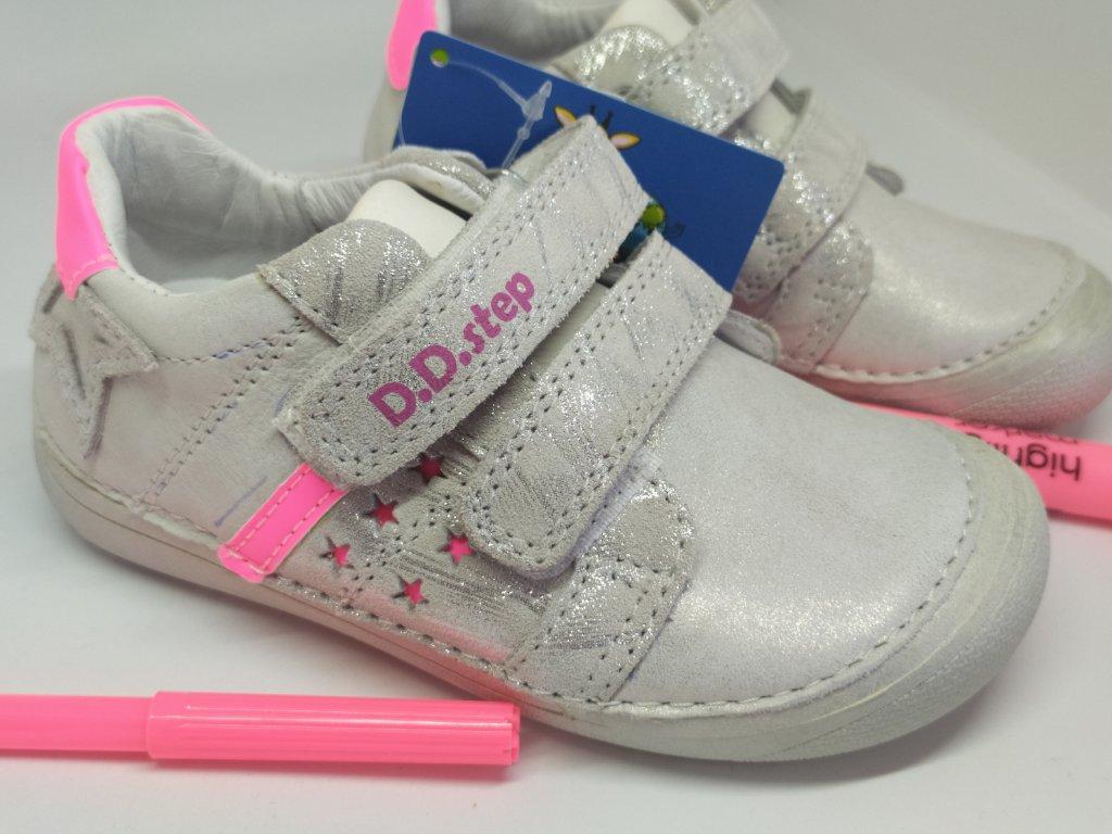 D.D.Step 063- 932A WHITE kožené topánky /tenisky