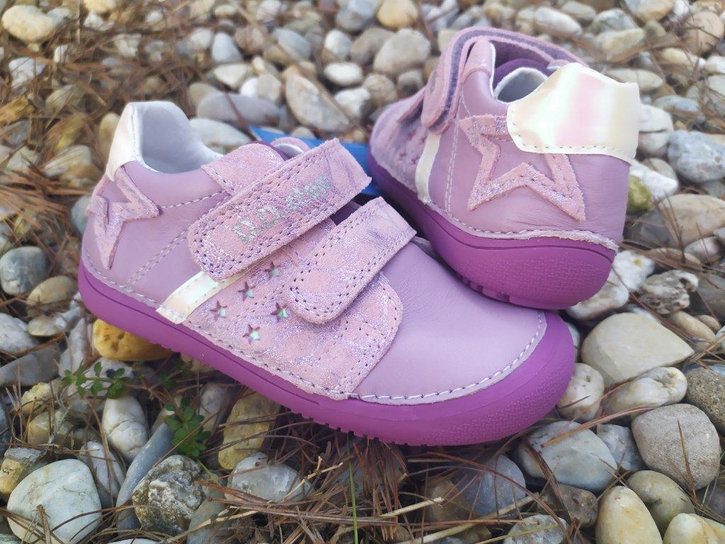 D.D.Step 063- 932A MAUVE kožené topánky /tenisky