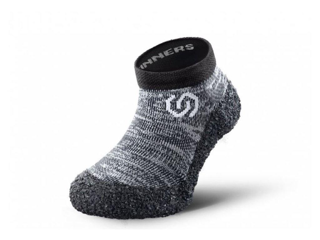 Skinners KIDS Granite Grey- ponožko -topánky