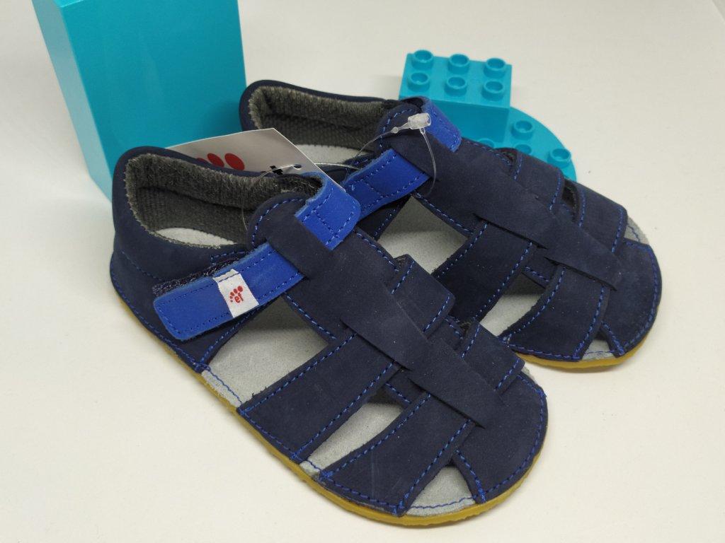 Ef Barefoot sandálky Tmavo modrá
