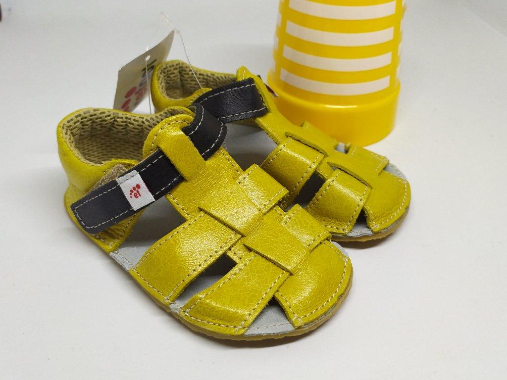 Ef Barefoot sandálky Žltá