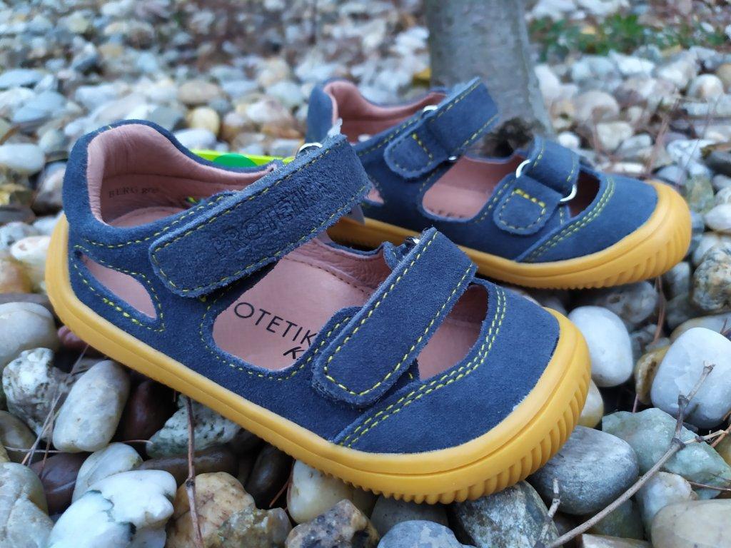 Protetika Barefoot sandále Berg GRIS