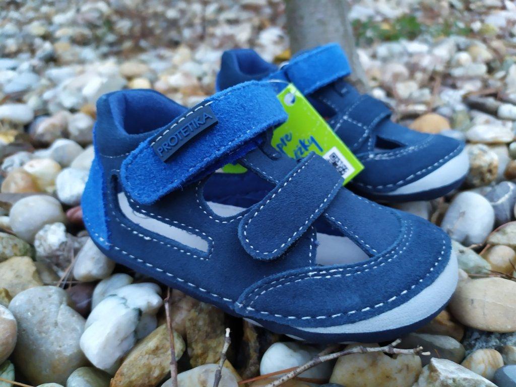 Protetika Barefoot sandále Flip Marine