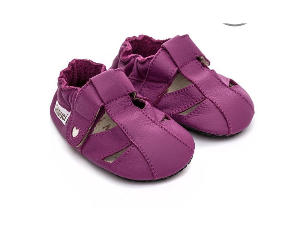 Sandále Liliputi Paws - Fuchsia