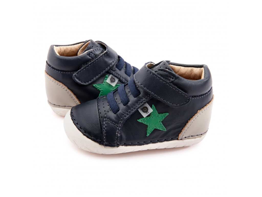 4051 Champster Pave Navy Gris Neon Green 1