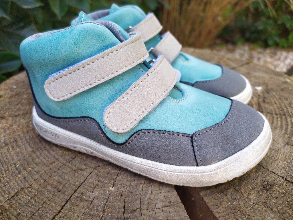 Celoročné kožené topánky Jonap – Bella MINT