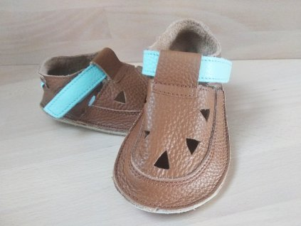 Baby Bare Shoes Bear- Top Stitch
