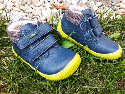 Protetika Harper Navy koené celoročné topánky