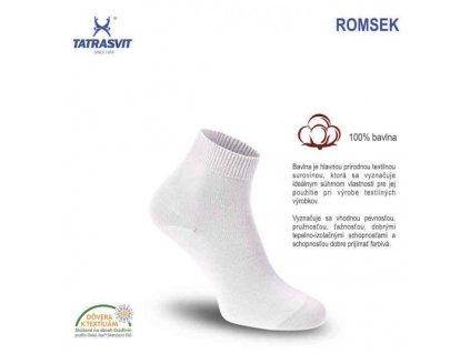 tatrasvit ponozky romsek biela popis sk