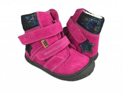 10412 3 barefoot zimni obuv filii himalaya tex pink m