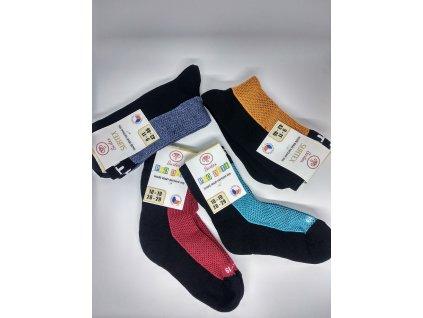 Surtex ponožky 80% merino a vnútro froté