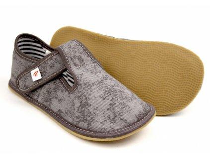 Ef papuče 395 Popiel