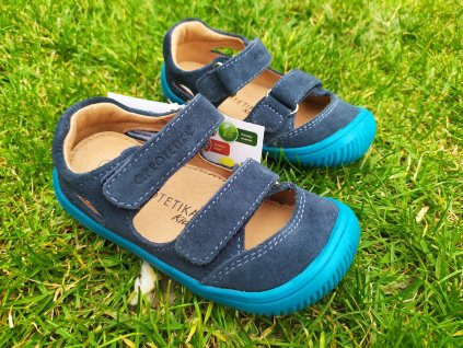 Protetika Barefoot sandále Berg Navy
