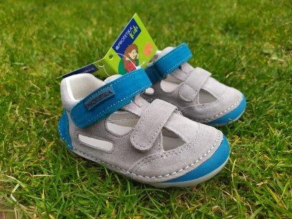 Protetika Barefoot sandále Flip Tyrkys
