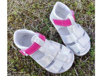 Ef Barefoot sandálky White