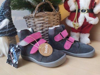 BEDA ISABEL 0004– zimné topánky s membránou