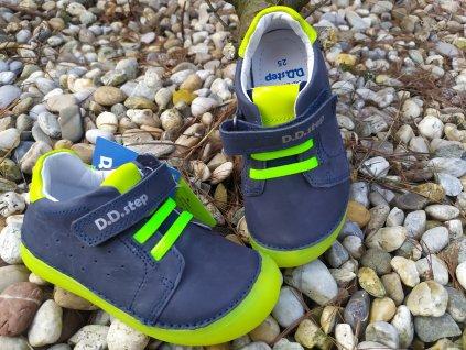 D.D.Step 063- 779A Royal Blue kožené topánky /tenisky