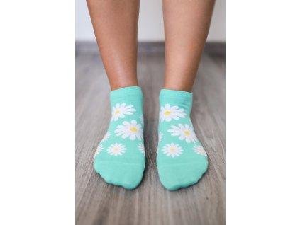 barefoot ponozky kratke margaretky 16192 size large v 1