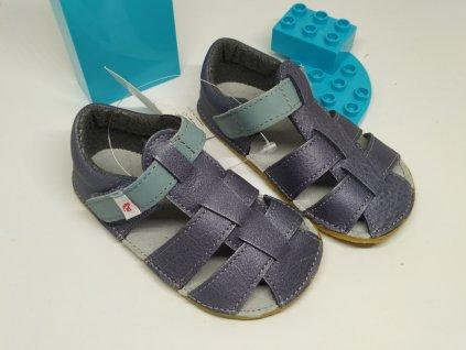 Ef Barefoot sandálky Šedé