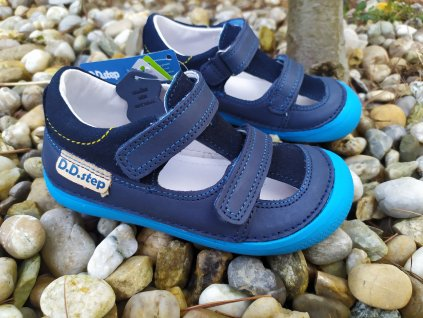 Barefoot sandálky D.D. Step Royal Blue 063-237M