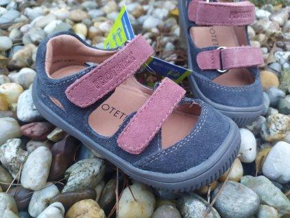 Protetika Barefoot sandále Berg Grigio