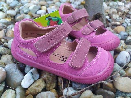 Protetika Barefoot sandále Berg PINK