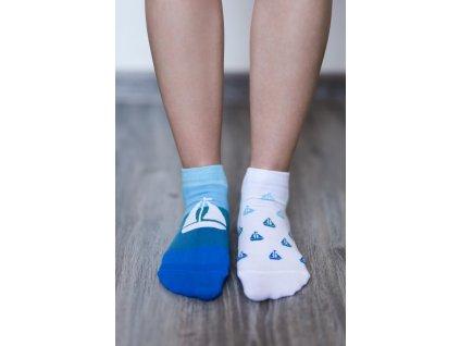 barefoot ponozky kratke lode 16576 size large v 1