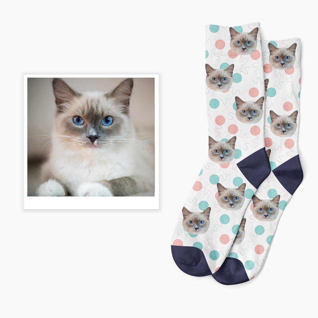 klubkové ponožky s potiskem