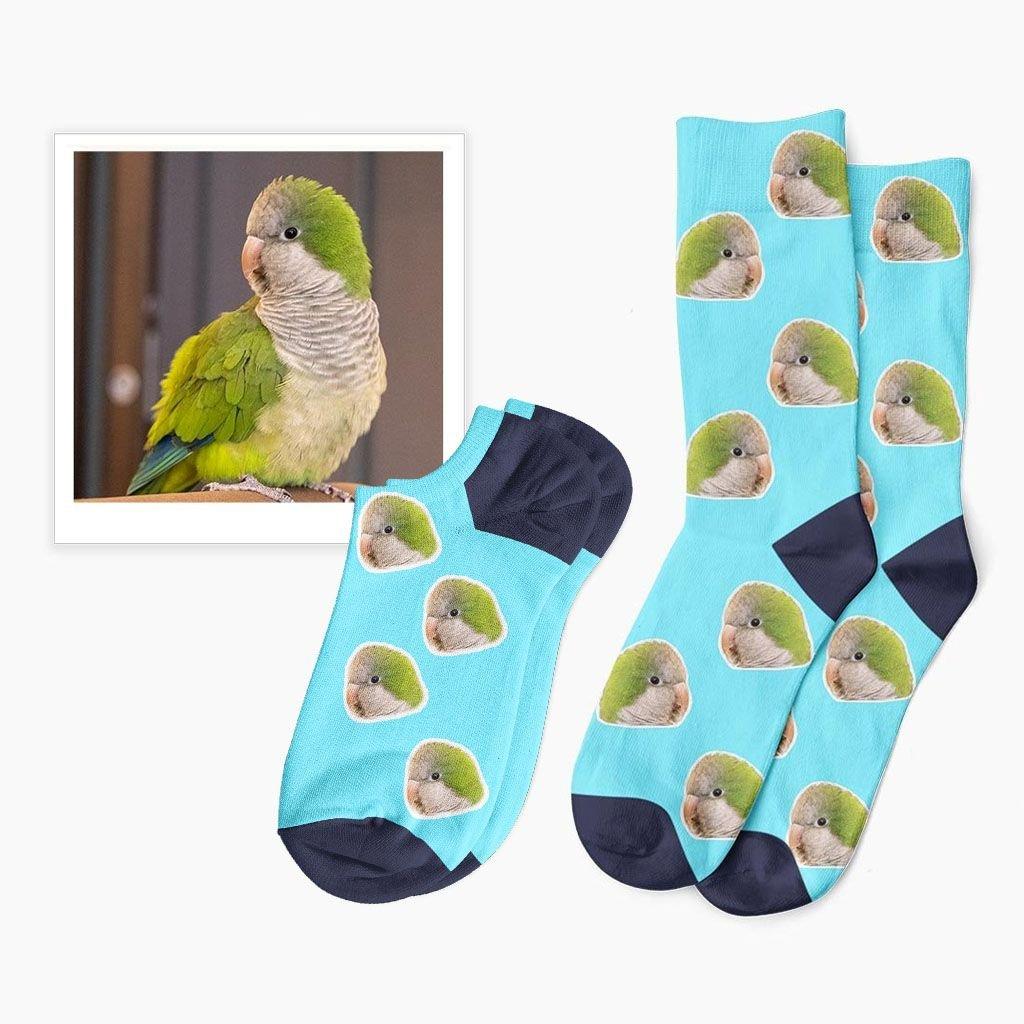 ponožky s vlastním zvířátkem