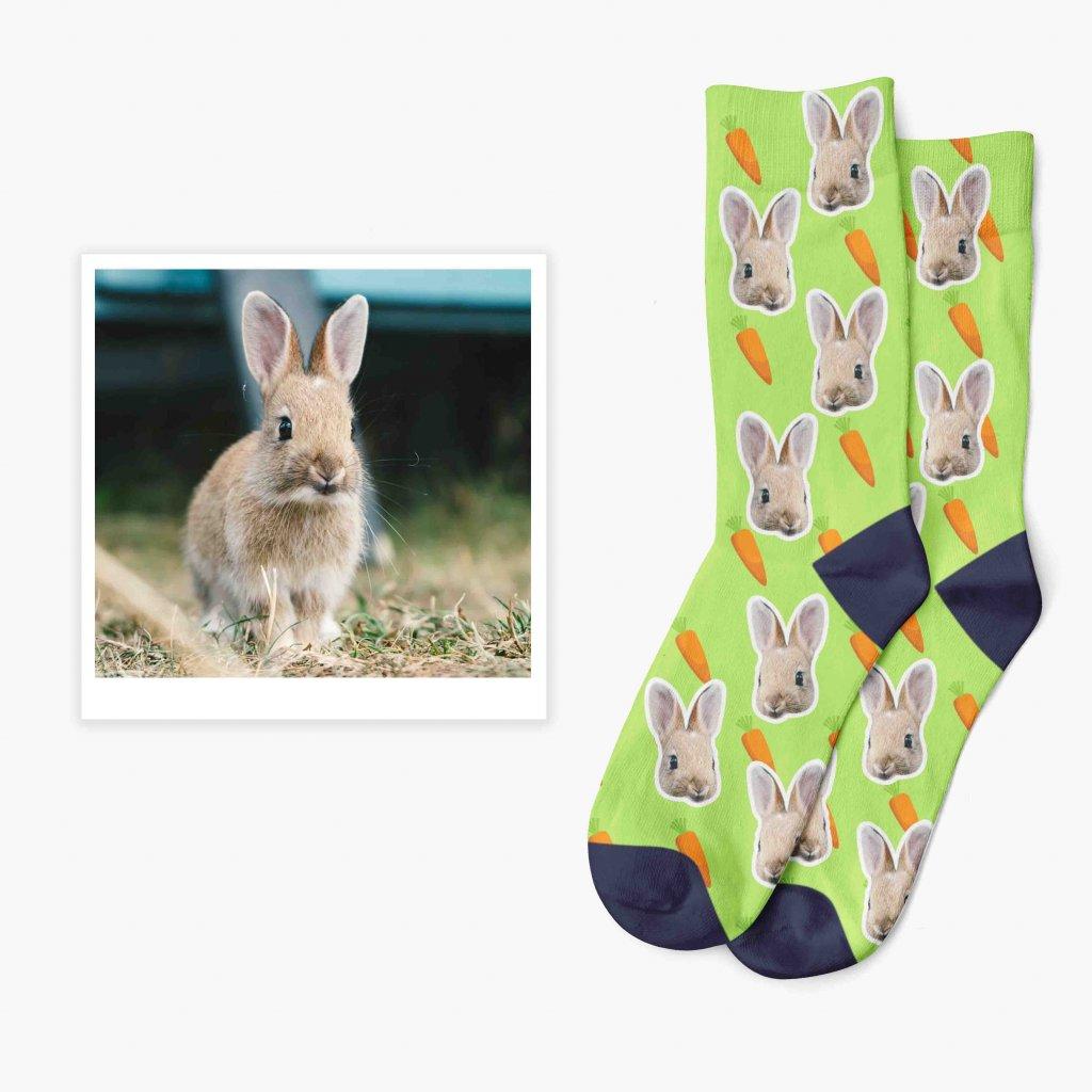 ponožky s fotkou svého mazlíčka