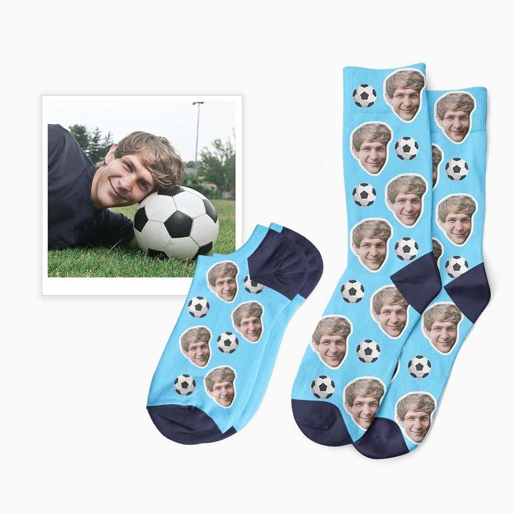 fotbalové ponožky s fotkou