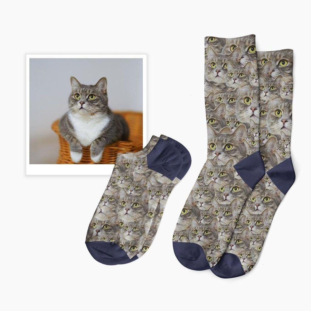 ponožky a bláznivým potiskem
