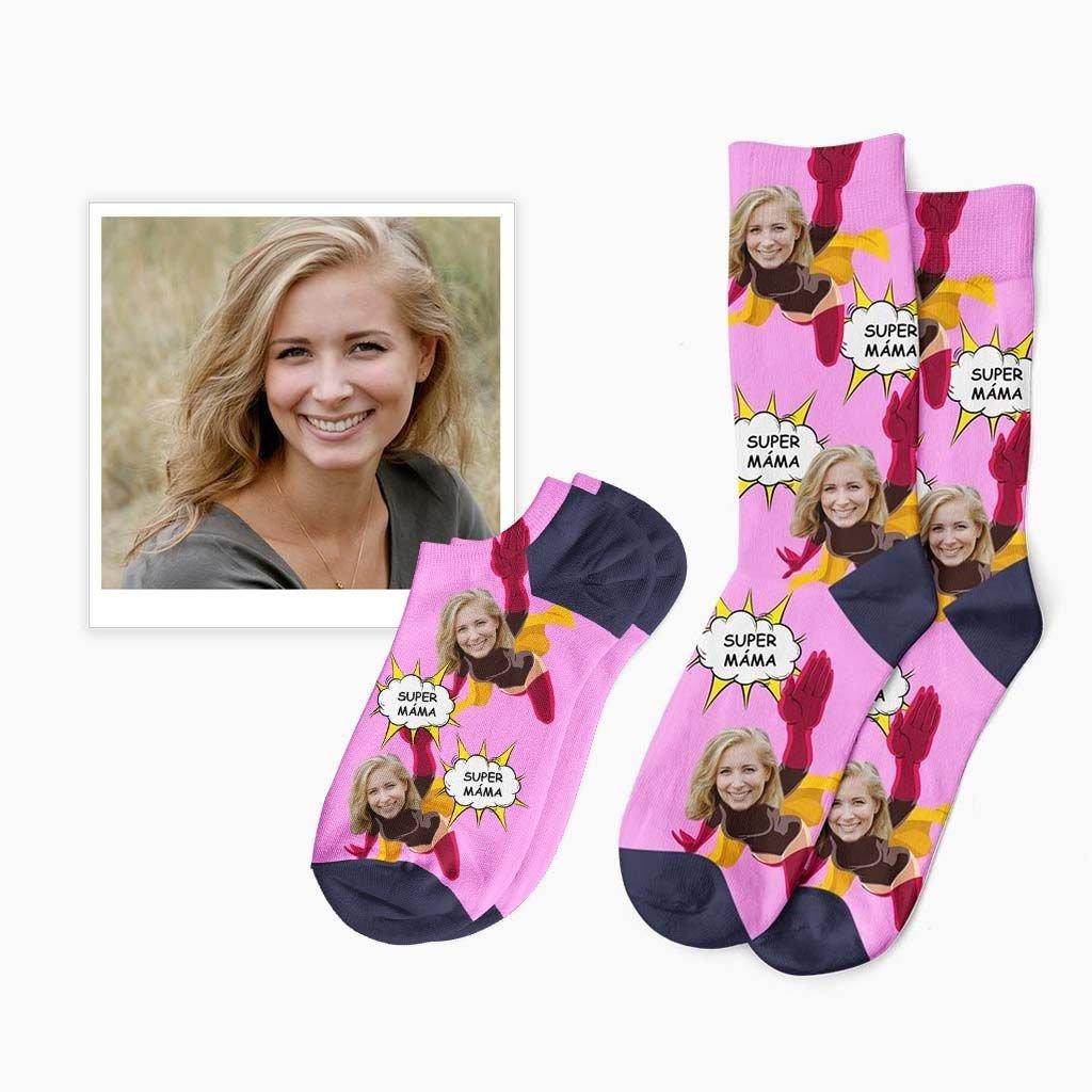 ponožky pro super mámu či ségru