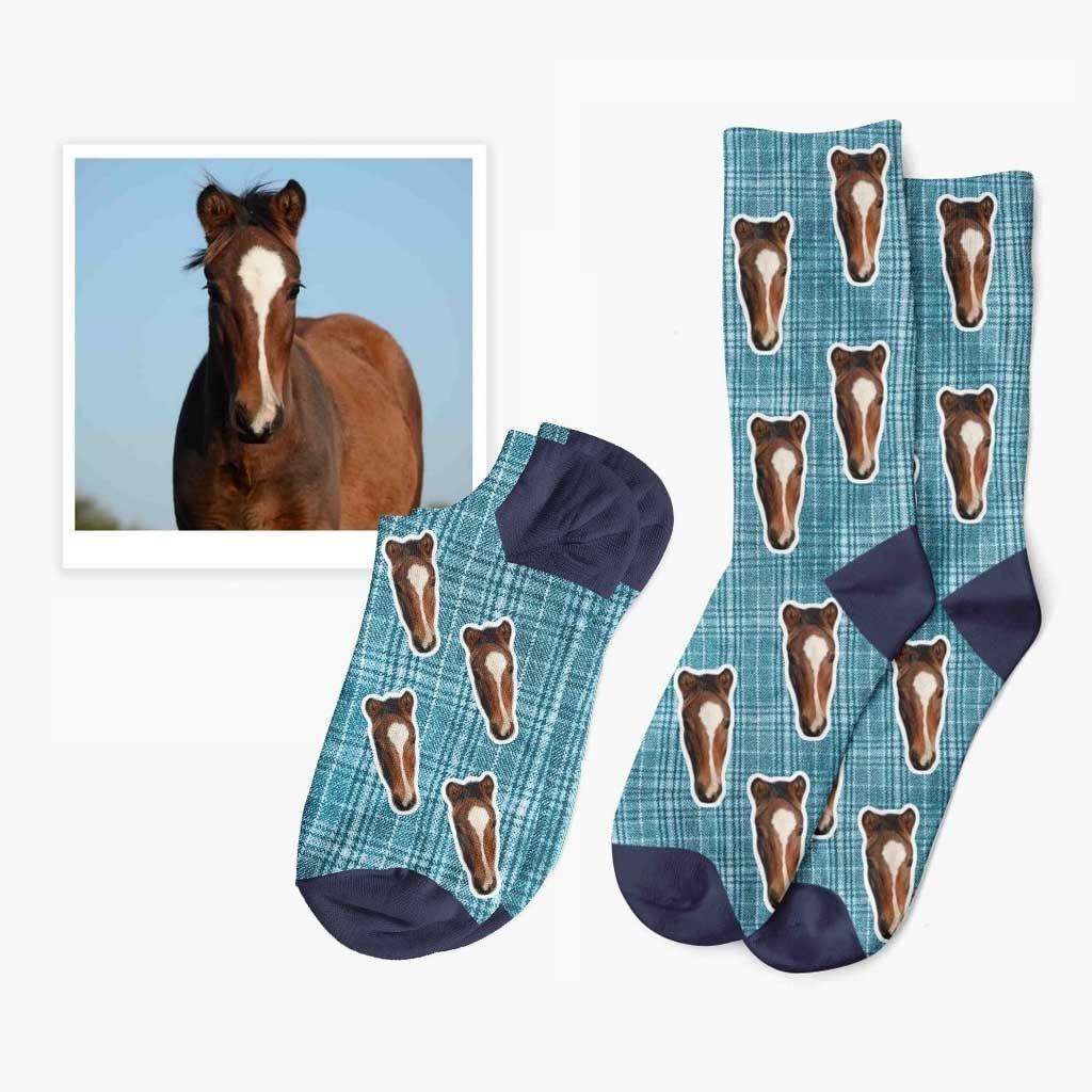 rajtkové ponožky s vlastní fotkou