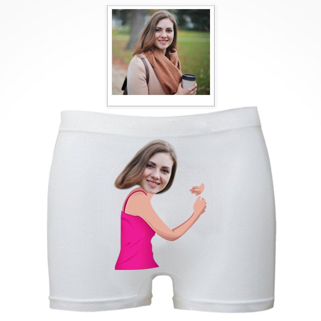 boxerky s potiskem vlastní fotky