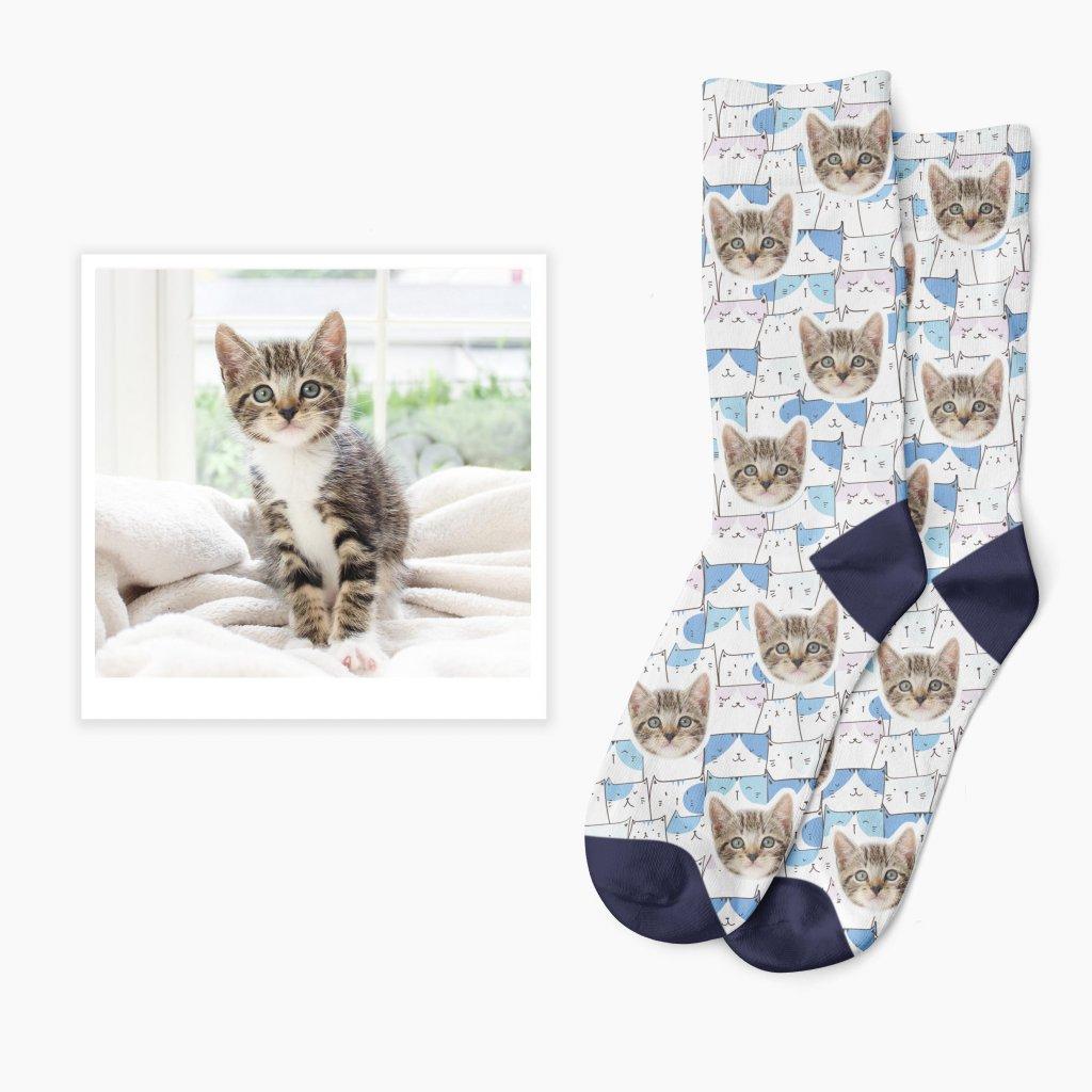 ponožky s potiskem fotky