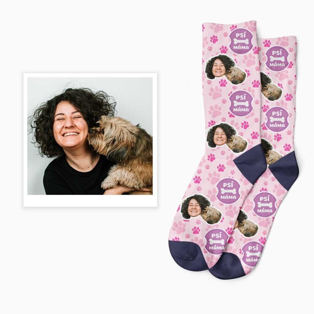 Ponožky psí máma