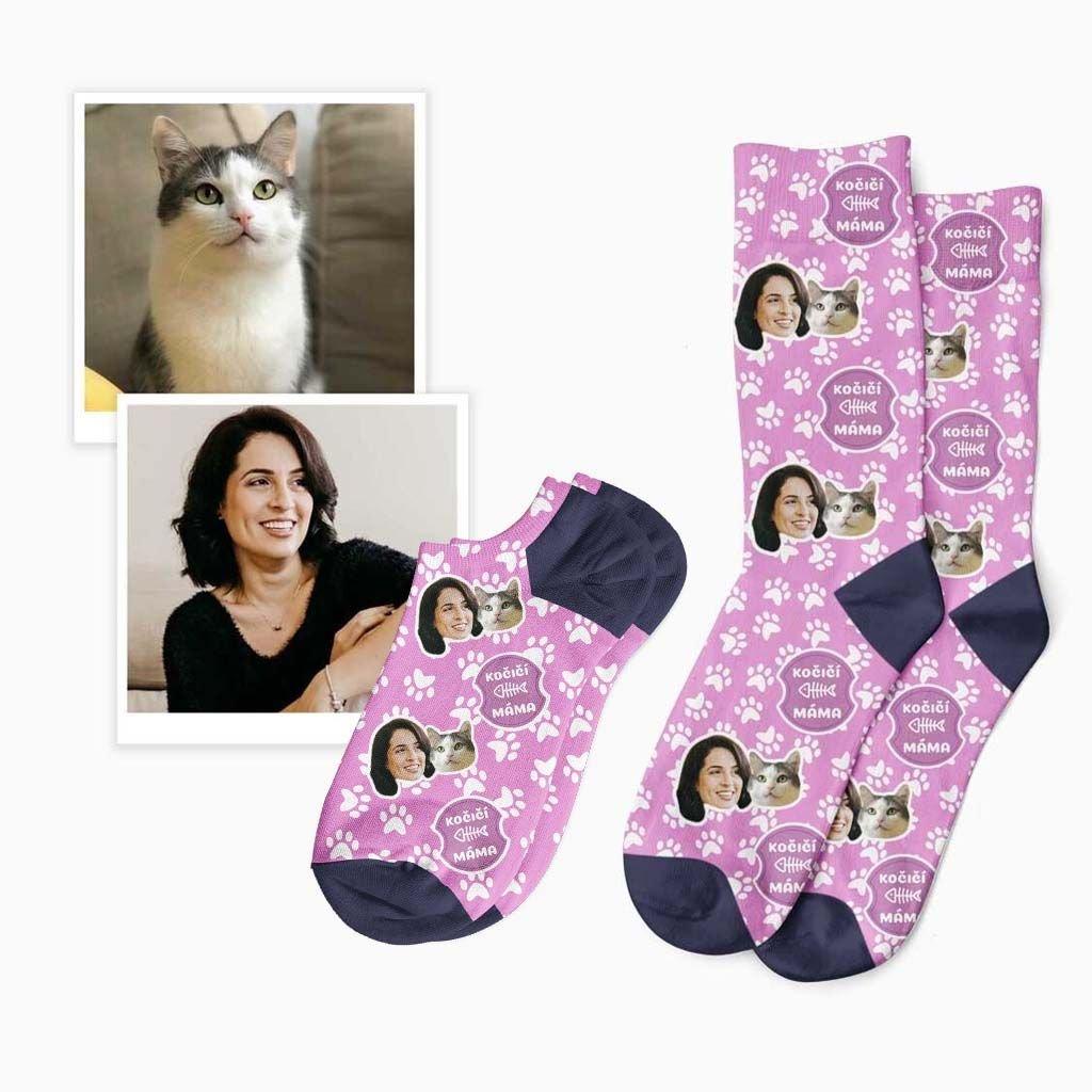ponožky pro kočičí mámu