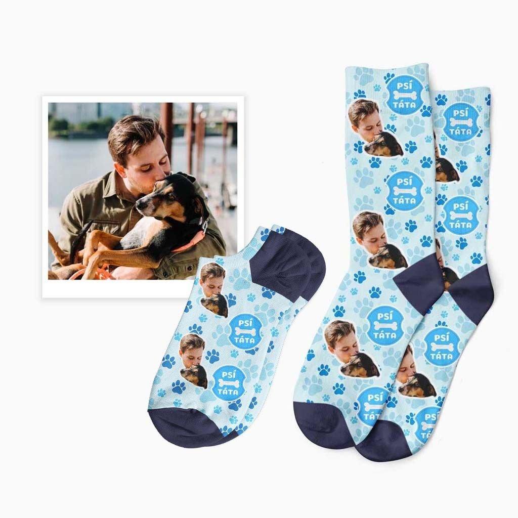 vlastní psí táta ponožky