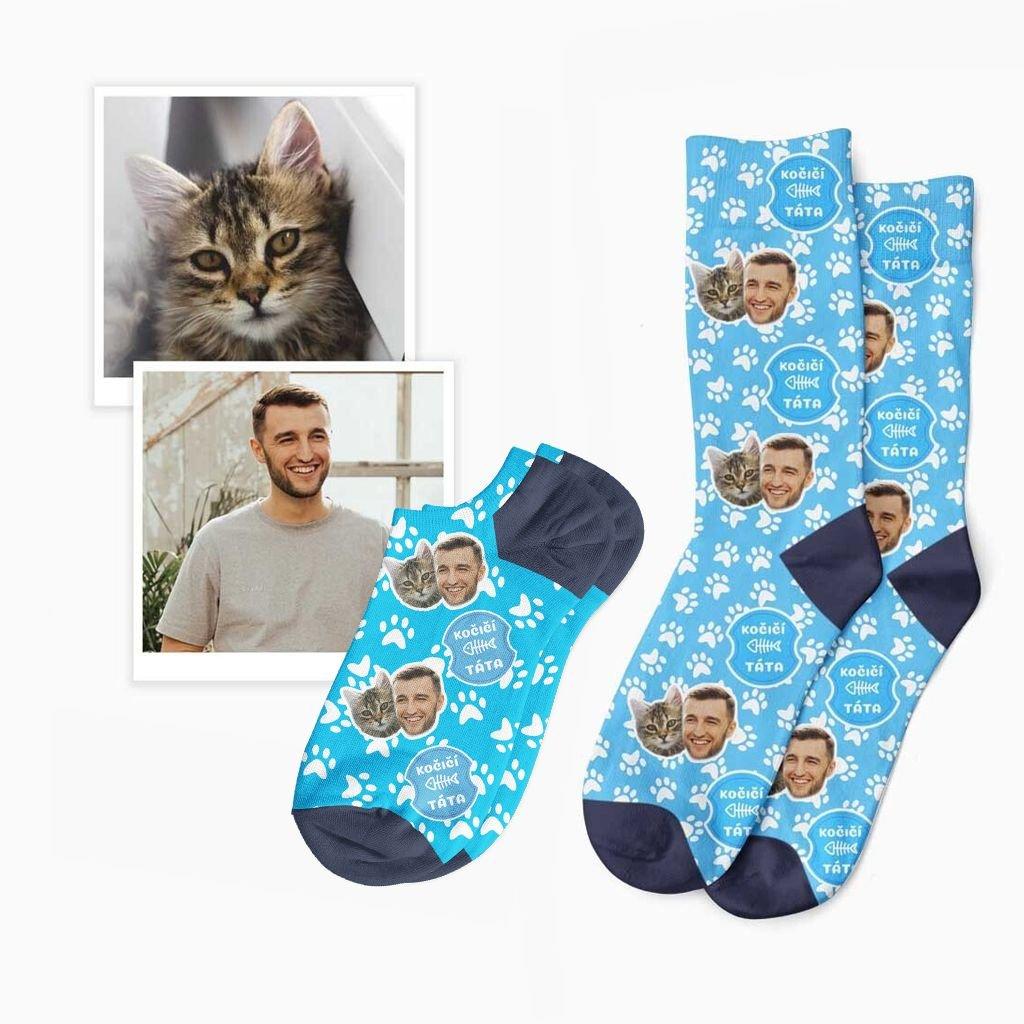 ponožky pro kočičího tátu