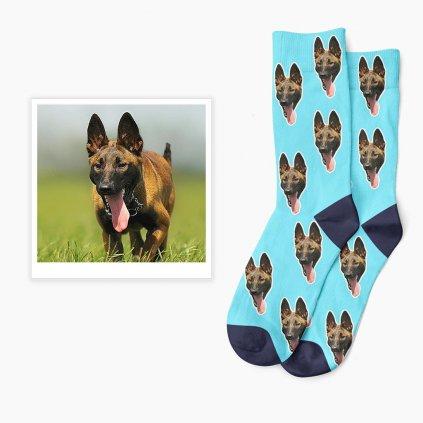 ponožky s vlastní fotkou