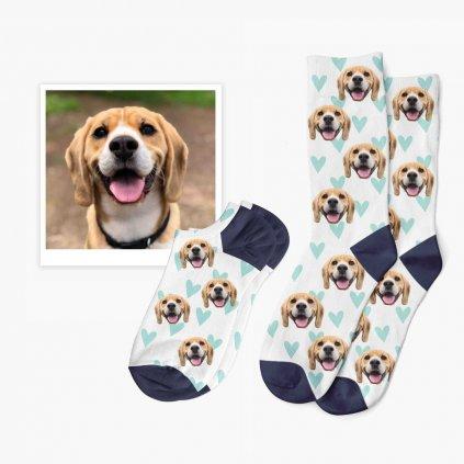ponožky s fotkou mazlíčka