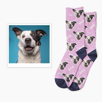 Ponožky s potiskem s fotkou