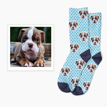 Ponožky s vlastní foktou