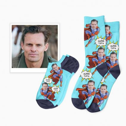 ponožky pro super tátu či bráchu