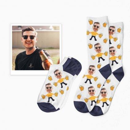 ponožky s pivem