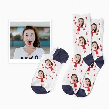 ponožky pro milovníky vína
